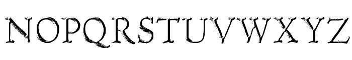 Hultog Engraved Font UPPERCASE