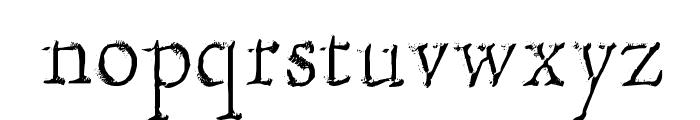 Hultog Engraved Font LOWERCASE