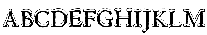 Hultog Snowdrift Font LOWERCASE