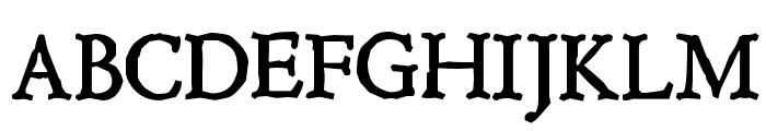 Hultog Font UPPERCASE