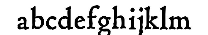 Hultog Font LOWERCASE
