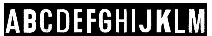 Human Error Dark Font LOWERCASE