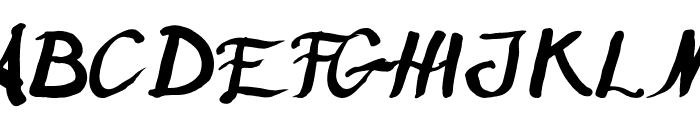 Humana Font UPPERCASE