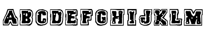 Humanoid Typhoon Font LOWERCASE