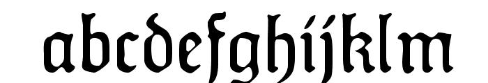 HumboldtFraktur Zier Font LOWERCASE