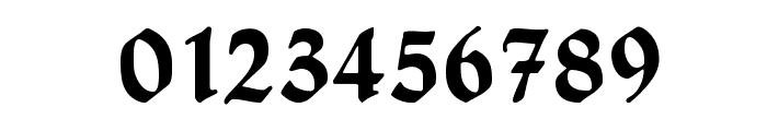 HumboldtFraktur Font OTHER CHARS