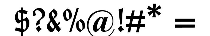 HumboldtFrakturUNZ1A Font OTHER CHARS