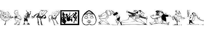 HumoricaTwo Font LOWERCASE