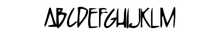 Humpbunny Font UPPERCASE