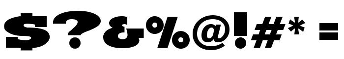 Hundo Font OTHER CHARS