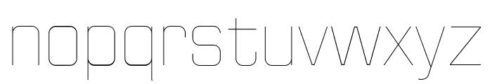 Huntkey Thin Font LOWERCASE