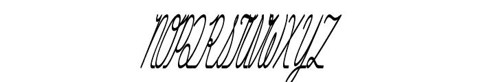 Hurontario Font UPPERCASE