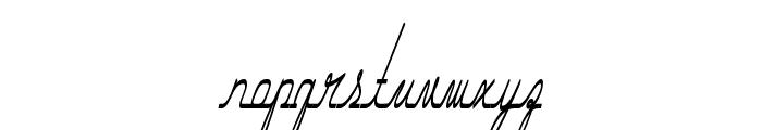 Hurontario Font LOWERCASE