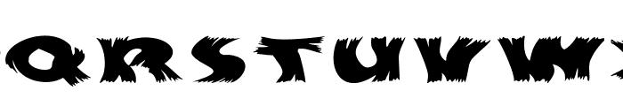 Hurrikanish Font LOWERCASE