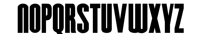 Hursheys Font UPPERCASE