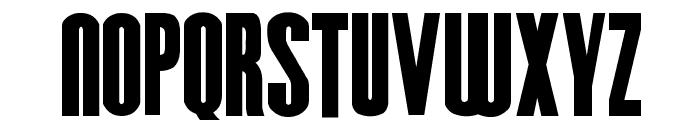 Hursheys Font LOWERCASE