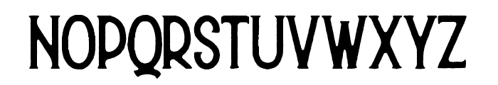 Hurson Font LOWERCASE