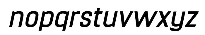Hurufo & Numero Bold Italic Italic Font LOWERCASE