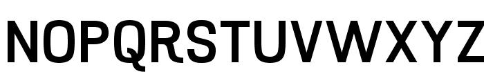 Hurufo & Numero Bold Font UPPERCASE
