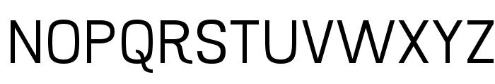 Hurufo & Numero Thin Font UPPERCASE