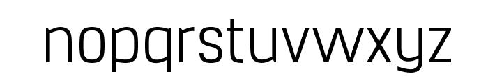 Hurufo & Numero Thin Font LOWERCASE