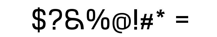 Hurufo & Numero Font OTHER CHARS