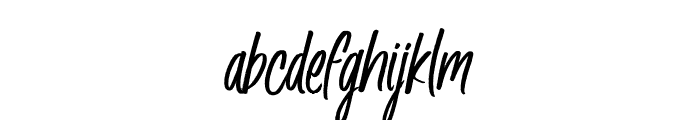 Husky Giggle DEMO Regular Font LOWERCASE