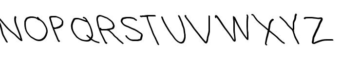 Hussar Blyskawica Opposite Oblique Font UPPERCASE