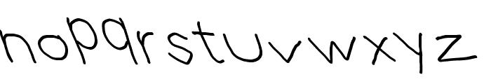 Hussar Blyskawica Opposite Oblique Font LOWERCASE