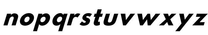 Hussar Bold Condensed Oblique Three Font LOWERCASE