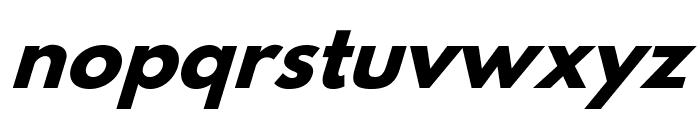Hussar Bold Italic Font LOWERCASE