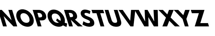 Hussar Bold Leftalic Font UPPERCASE
