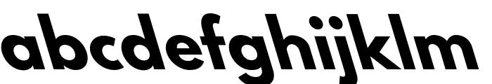 Hussar Bold Leftalic Font LOWERCASE