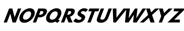 Hussar Bold Oblique Four Font UPPERCASE