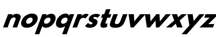 Hussar Bold Oblique Four Font LOWERCASE