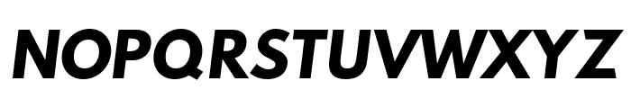 Hussar Bold Oblique One Font UPPERCASE