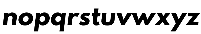 Hussar Bold Oblique One Font LOWERCASE