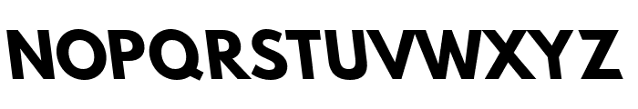 Hussar Bold Opposite Oblique One Font UPPERCASE
