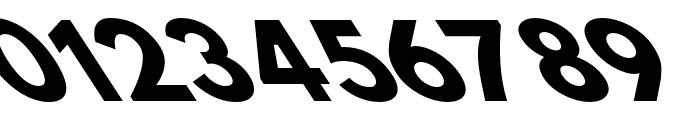 Hussar Bold Opposite Oblique Seven Font OTHER CHARS