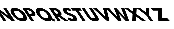 Hussar Bold Opposite Oblique Seven Font UPPERCASE