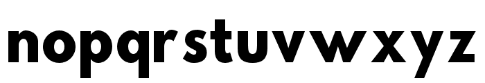 Hussar Bold SuperCondensed Font LOWERCASE