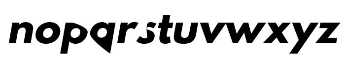 Hussar Dziwak Kursywa Font LOWERCASE
