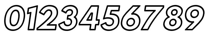 Hussar Ekologiczne 1 Oblique Font OTHER CHARS