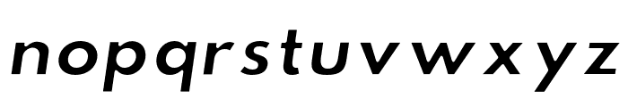 Hussar Ekologiczne 2 Oblique Font LOWERCASE
