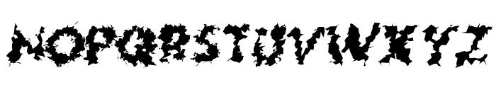 Hussar Lance ExtraBold Oblique Font UPPERCASE