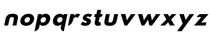 Hussar Nova Bold Italic Font LOWERCASE