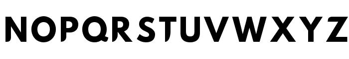 Hussar Nova Bold Font UPPERCASE