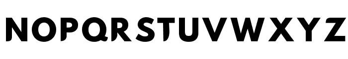 Hussar Nova ExtraBold Font UPPERCASE