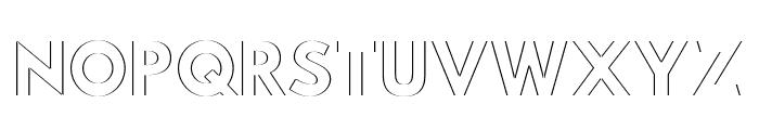 Hussar Plate Font UPPERCASE