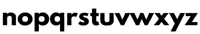 Hussar Print MC Font LOWERCASE
